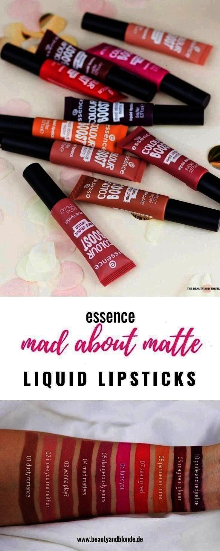 mad about matte Liquid Lipsticks mit Swatches und ... Neu im essence Sortiment die mad about matte