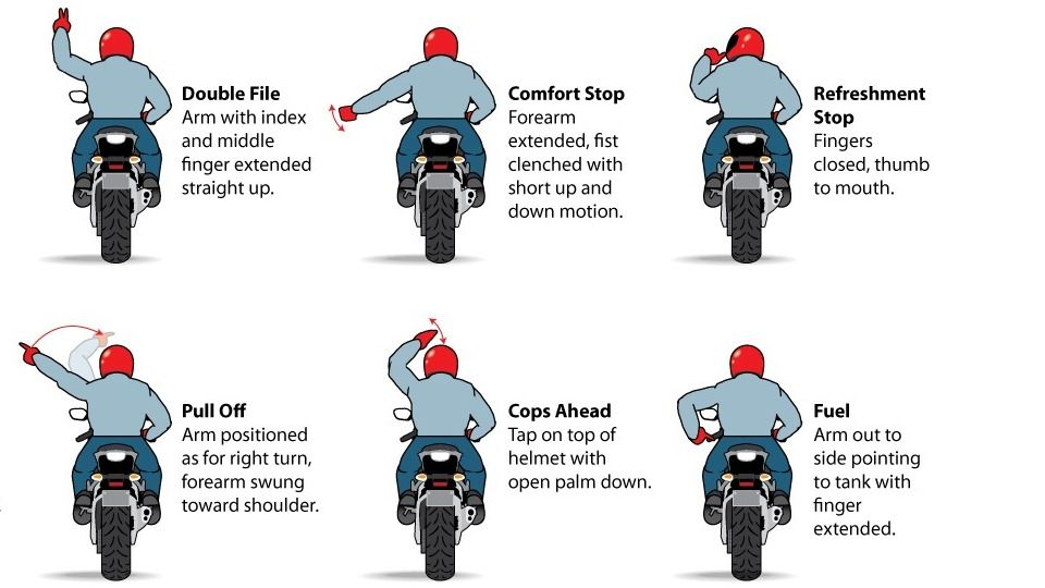 12 Motorcycle Hand Signals You Should Know | Life | ET ...