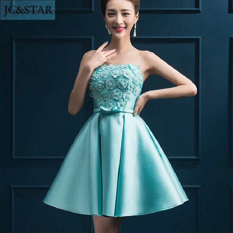 Short Turquoise Homecoming Dresses Under $50