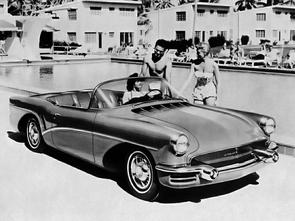 The 1955 Buick Wildcat Iii Concept Car Autos Pinterest Buick