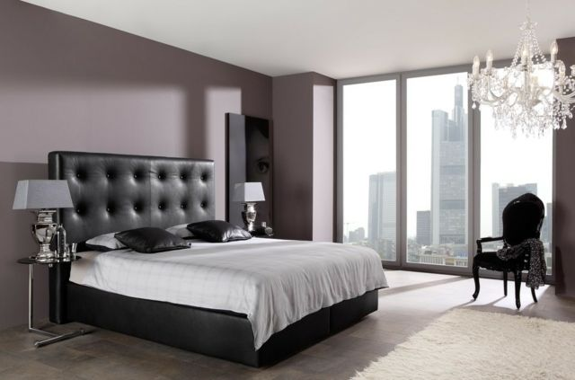 d coration de chambre 55 id es de couleur murale et. Black Bedroom Furniture Sets. Home Design Ideas