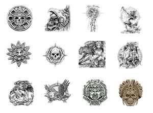 Tatuajes Con Motivos Incas aztecas incas mayas tattoos and designs | tatuajes | pinterest