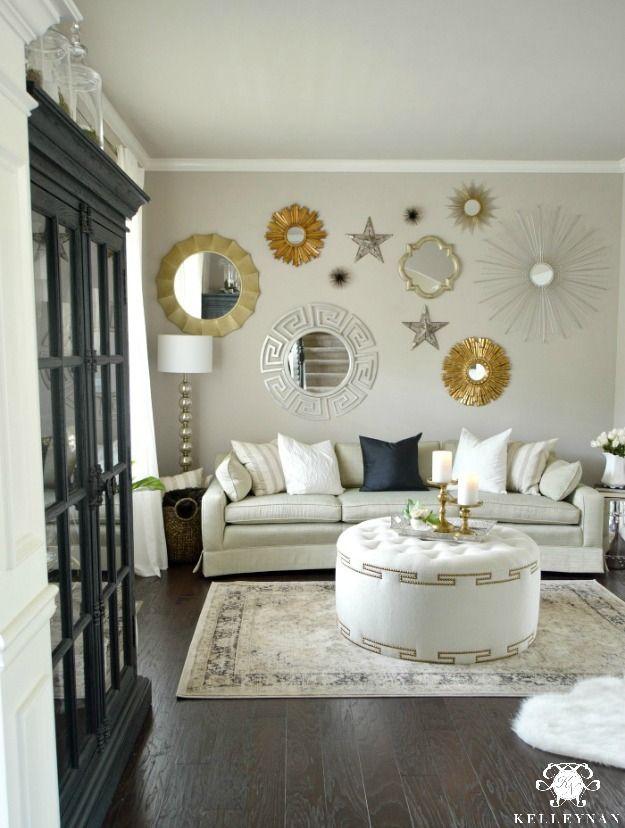 Rooms Reveals Kelley Nan Gold Living Room Luxury Living Room Formal Living Rooms