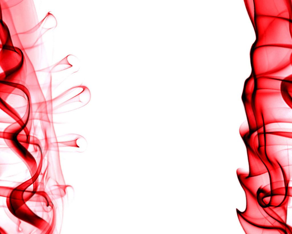 Red Smoke On White Background Red And White Red Smoke Black And White Abstract