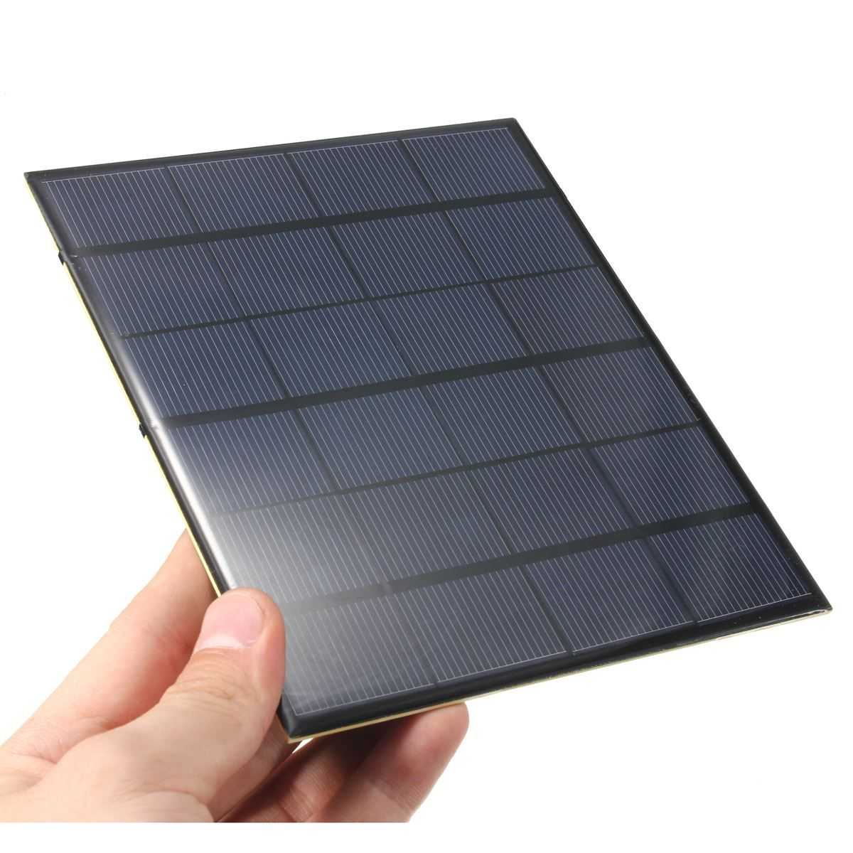 Universal 3 5w 6v 583ma Monocrystalline Silicon Epoxy Mini Solar Panel Solar Module System Solar Cells Mini Solar Panel Diy Solar Charger Flexible Solar Panels
