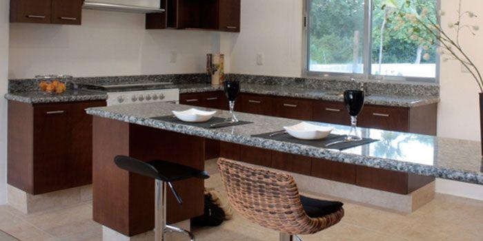 Resultado De Imagen Para Desayunador De Marmol Granito Gris Cocinas Mesada Granito
