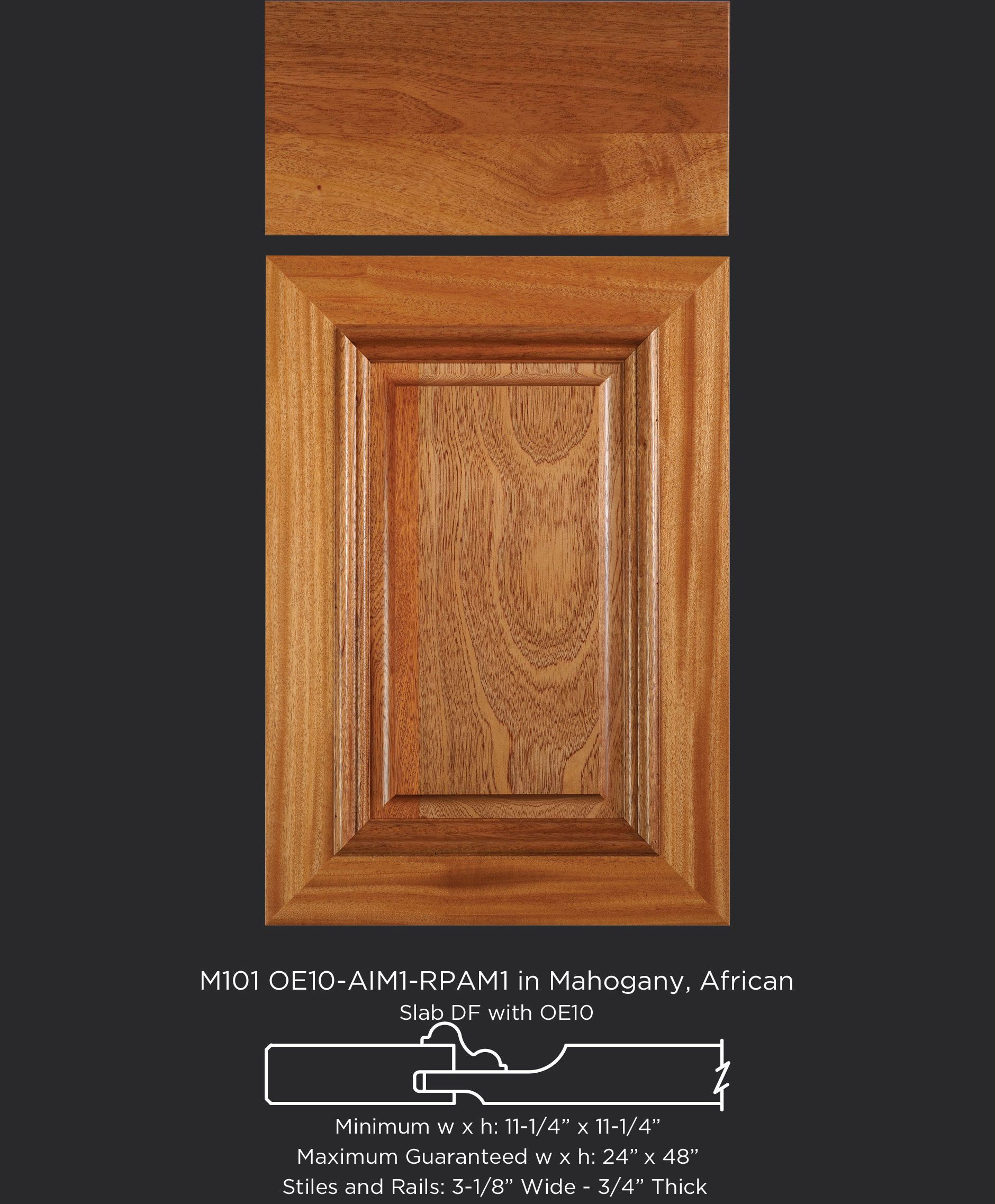 Email For Price Sheet On This One Too Mitered Cabinet Door M101 Oe10 Rpam1 Aim1 In Mahogany African Slab Drawer Front With O Mahogany African Cabinet Doors