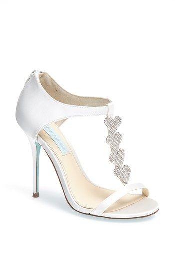 Blue By Betsey Johnson Favor Sandal Nordstrom Wedding Shoes Bridal Shoes Wedding Sandals