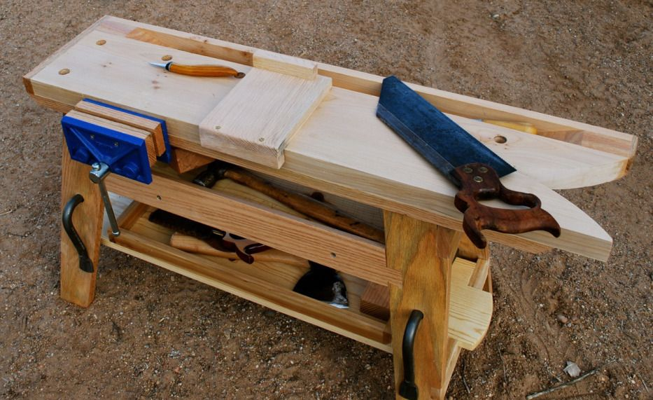 Phenomenal A Portable Saw Bench Mini Workbench By George Crawford Lamtechconsult Wood Chair Design Ideas Lamtechconsultcom