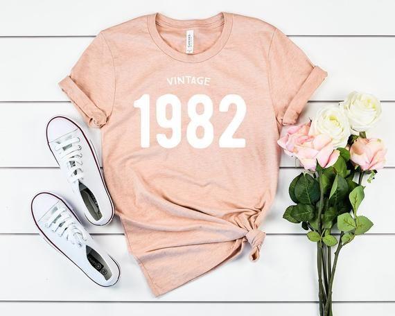 Photo of 38th birthday shirt, 1982 birthday shirt