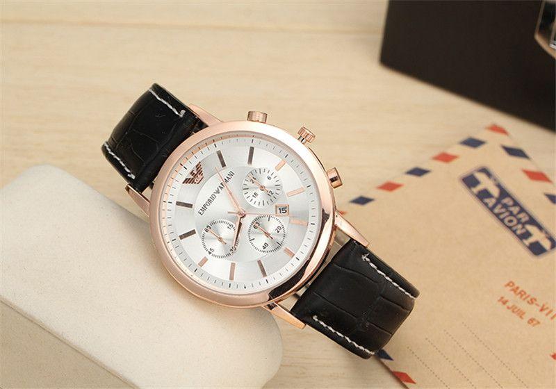 06adf55182b7 Elegante reloj para hombre Emporio Armani. (réplica).