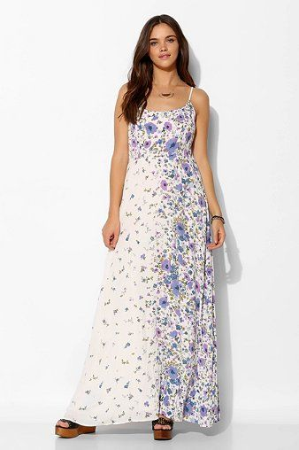 Kimchi Blue Wildflower Maxi Dress - Urban Outfitters