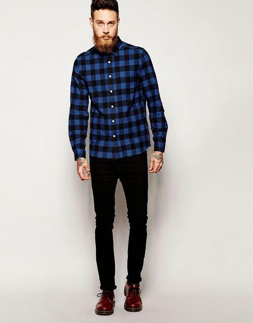 Camisa Xadrez Masculina - Com estilo! - The Alternativos  aba537189e8fc