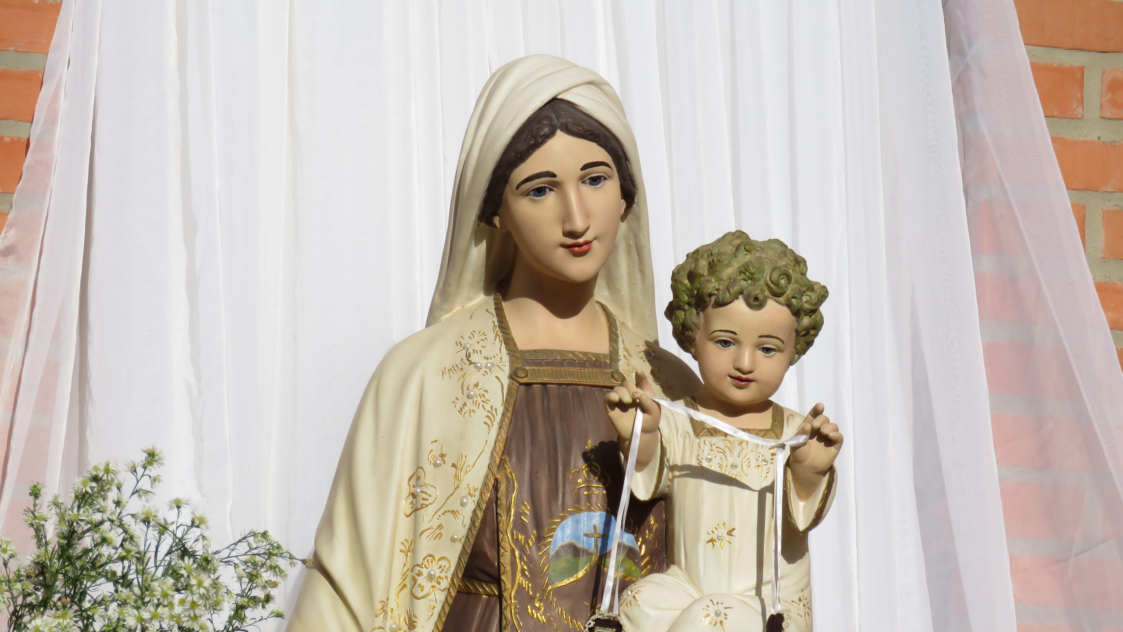 Imagem De Nossa Senhora Do Perpetuo Socorro Cidade De Bom Jesus
