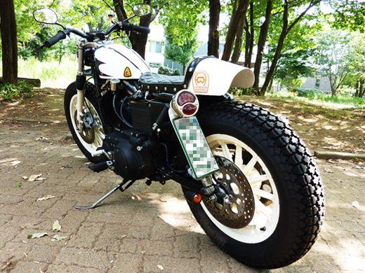 Racing Cafè: Harley XL 883 R 2001 SP-15 by Hide Motorcycle