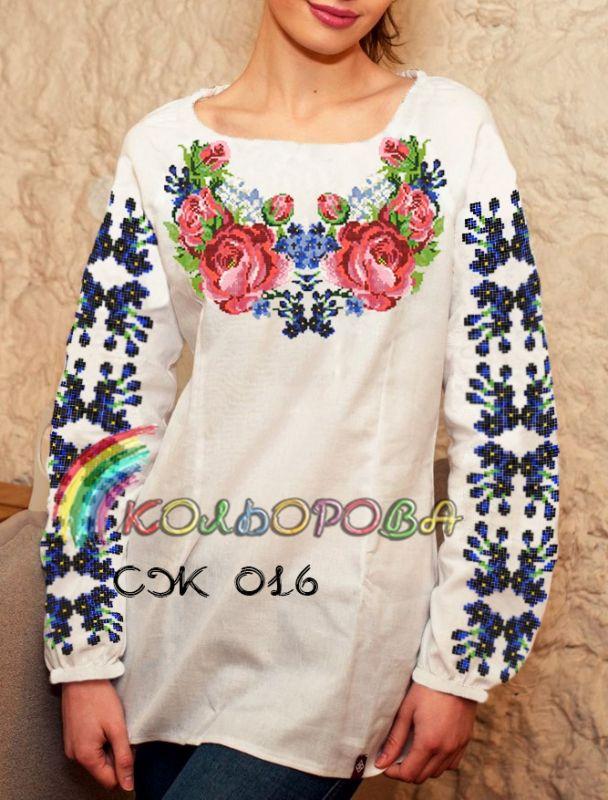 Жіноча сорочка СЖ-016  5b0be9023e7dc
