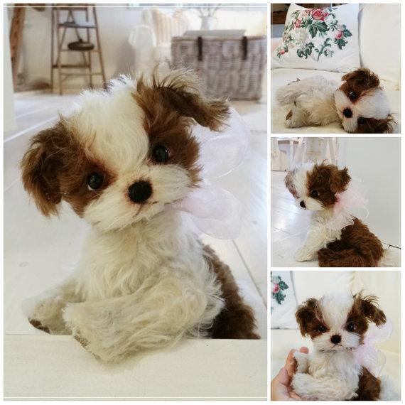 Pdf Sofort Download Schnitt Ebook Misha Bolonka Zwetna Welpe 17 22 Cm Teddy Manufaktur De Eileen Hecht Stuffed Animal Patterns Puppies Dogs And Puppies