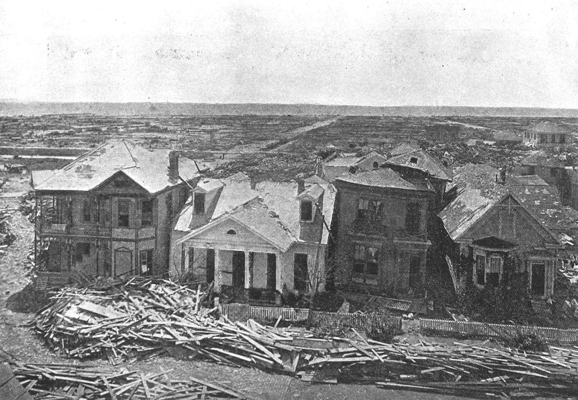 Looking Back At The 1900 Hurricane That Wiped Out Galveston And Made It Stronger In The Long Run Galveston Hurricane 1900 Galveston Hurricane Galveston