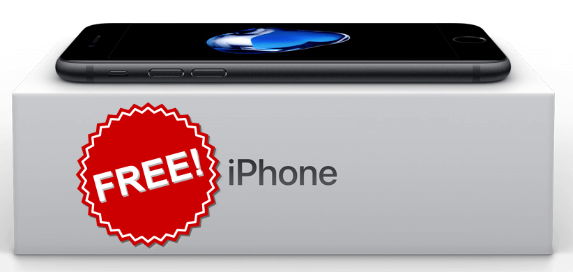 Apple giveaway iphone 7