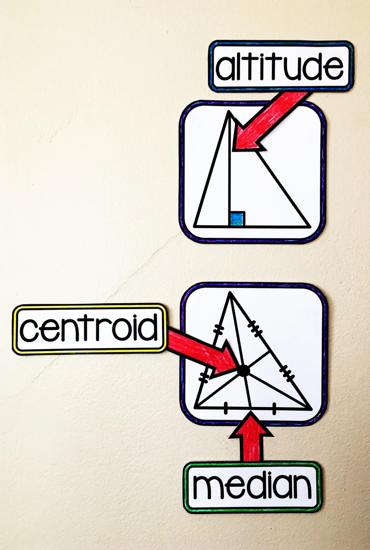 Geometry Word Wall Geometry words, Math word walls, Geometry