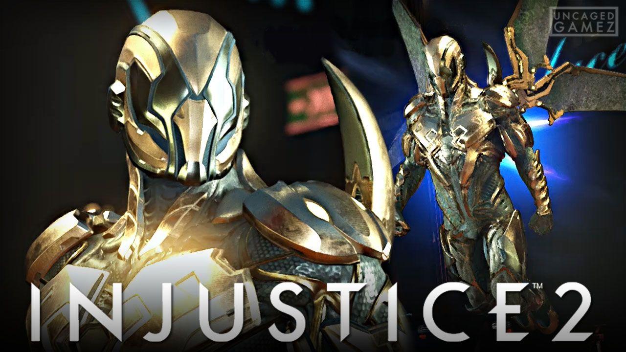 Injustice 2 The Legendary Gold Beetle Online Beta Blue Beetle Dc Injustice Injustice 2