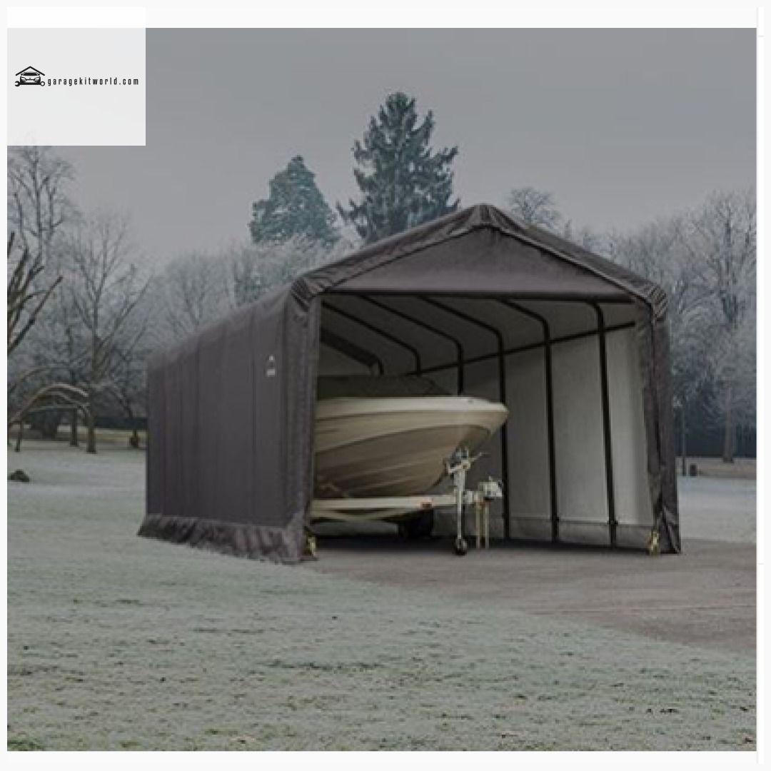 ShelterTube Green 12 x 20 One Car Portable Garage Kit