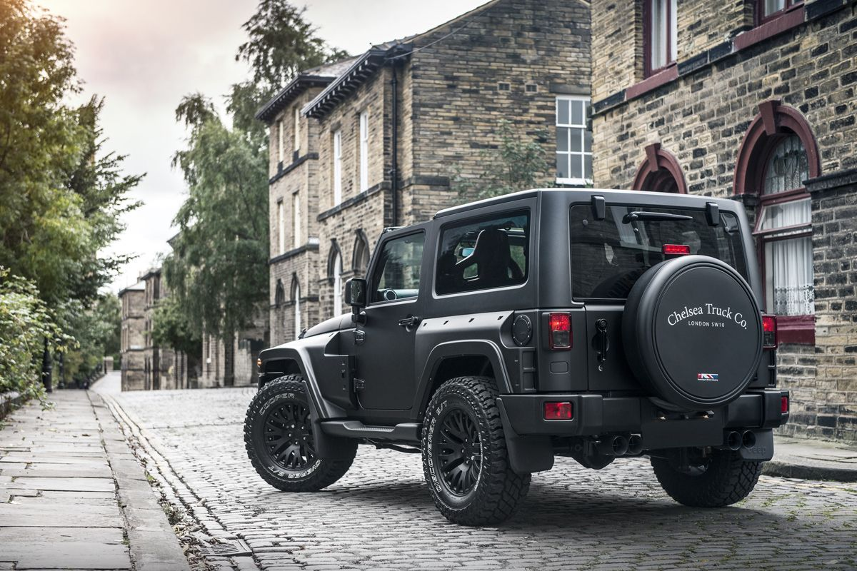 The Chelsea Truck Company Jeep Wrangler Black Hawk In 2020 Jeep