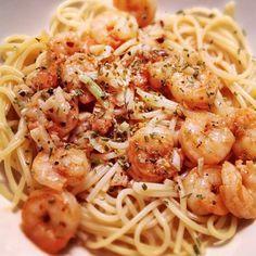 Secret Copycat Restaurant Recipes – Bennigans Shrimp and Pasta Recipe