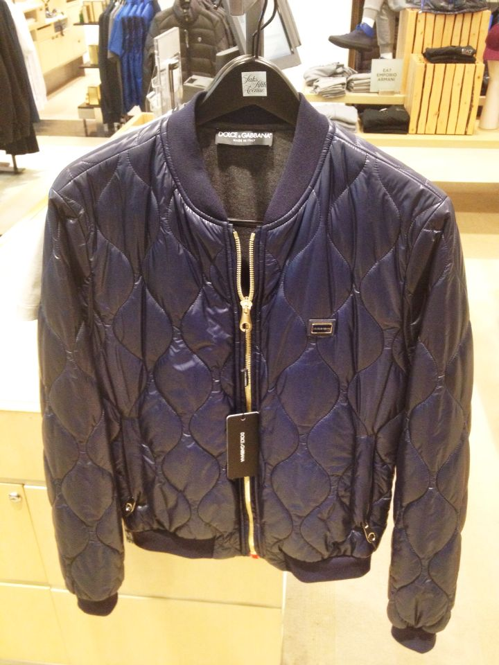D & G Quilted Jacket Jackets, Leather jacket, Quilted jacket