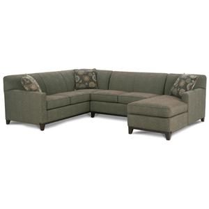 Rowe Martin 3 Piece Sectional Sofa Becker Furniture