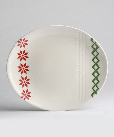 Take a look at this Nordic Winter Oval Platter by tag on #zulily today!