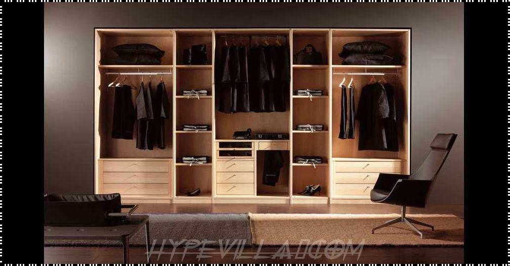 Wooden Best Wardrobe Interior Design Decors37 Wardrobe Design