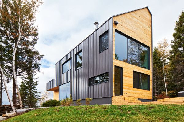 A Modern Barn-Like House by MU Architecture - Design Milk