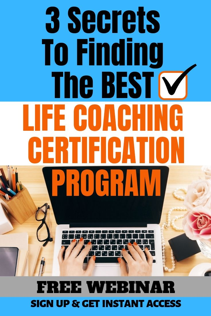 Life coach certification program find the best one for