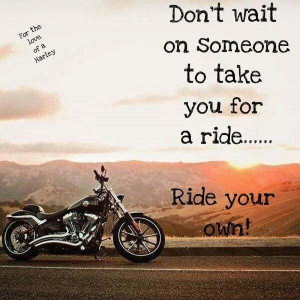 Good Morning Beautiful! Ready To Ride And Shine?