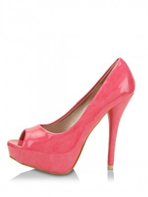 58045d7416 CARLTON LONDON Peep Toes With Pencil Heel by KOOVS.COM | shoe for ...