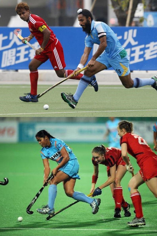 Hockey In India Indian Athletics Hockey Athlete Popular Games