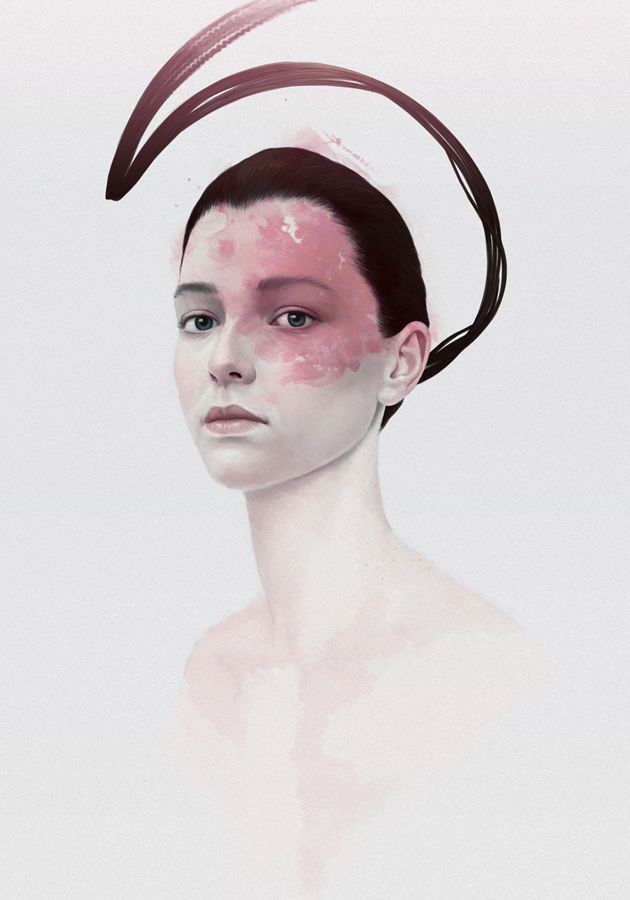 """Bị ấn tượng bởi sự """"sạch sẽ"""" trong cách vẽ của nghệ sĩ Diegoief."""