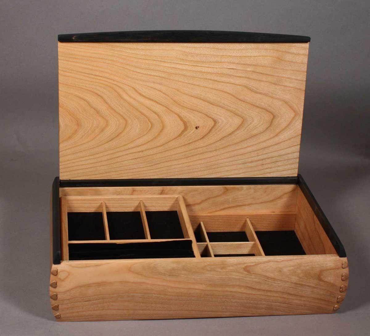 Custom Made Dovetailed Jewelry Box Boxes Pinterest Box