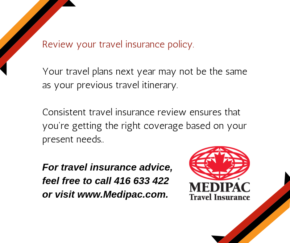 Review Your Travel Insurance Policy Before Finalising Your