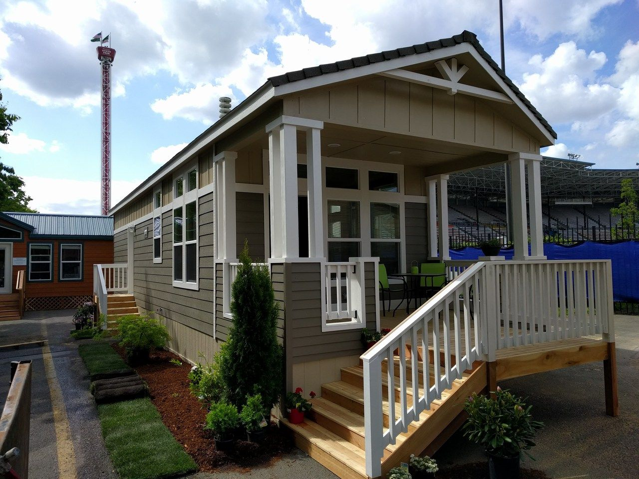 The Paradise Tiny House Floor Plan available by Palm