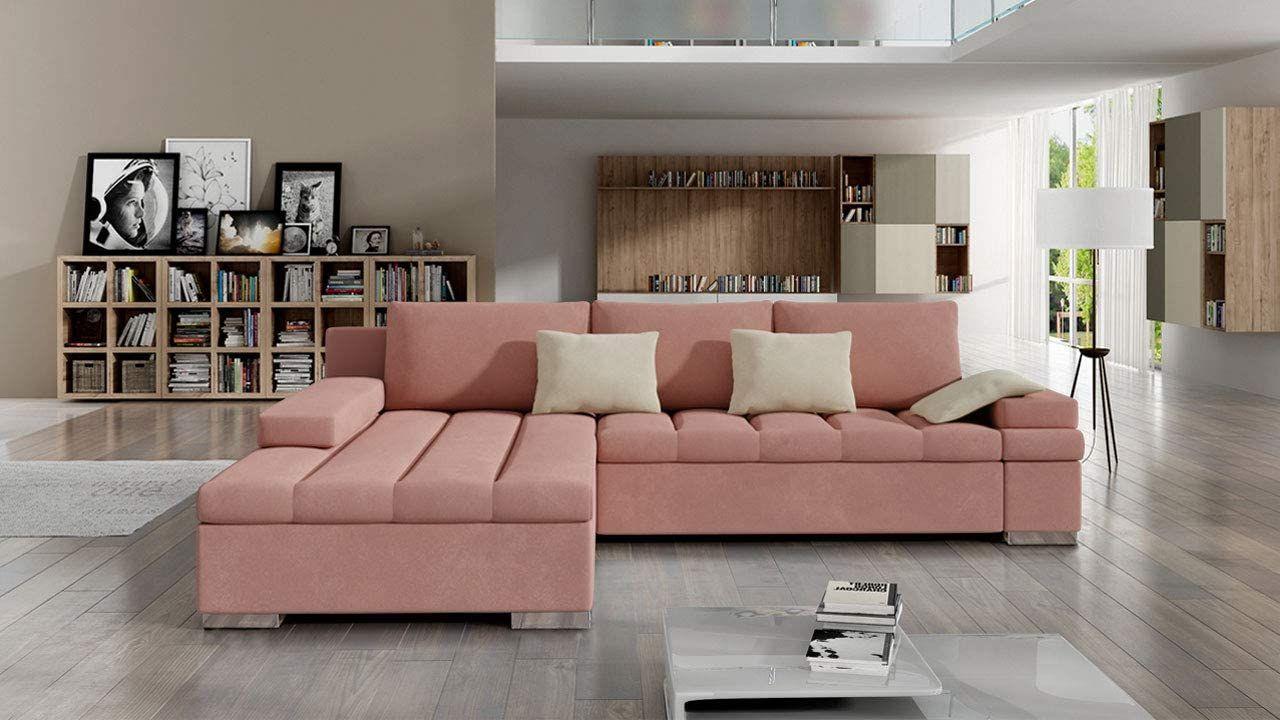 Design Ecksofa Bangkok Moderne Eckcouch Mit Schlaffunktion Und Bettkasten Ecksofa Fur Wohnzimmer In 2020 Wohnen Couch L Form Haus