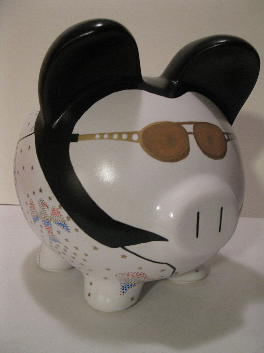 Piggy Bank Idea Elvis Piggy Banks Made To Order Would You Believe