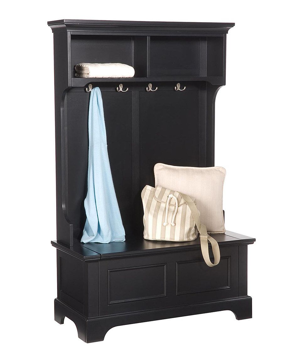 Look what I found on #zulily! Bedford Black Hall Tree by Home Styles #zulilyfinds
