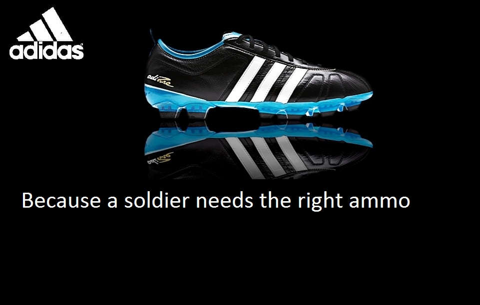 Adidas Shoes Ad