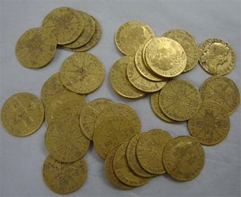 Gold Coins from 17th Century Found in Pub