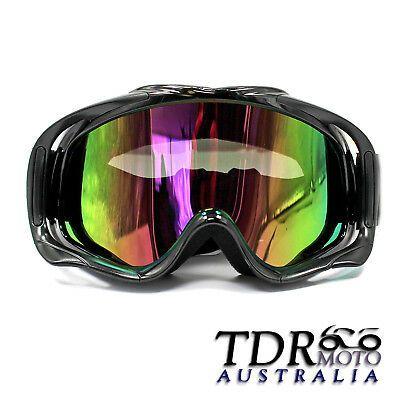 Advertisement Ebay Black Frame Snowboard Winter Snowmobile Ski Sports Winter Goggles Uv Tinted Lens In 2020 Motocross Goggles Snowboard Goggles Mx Motocross