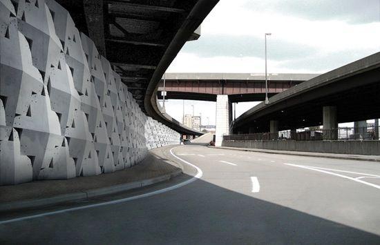 Quadror Wall Concrete Building Blocks Concrete Blocks Architecture Details