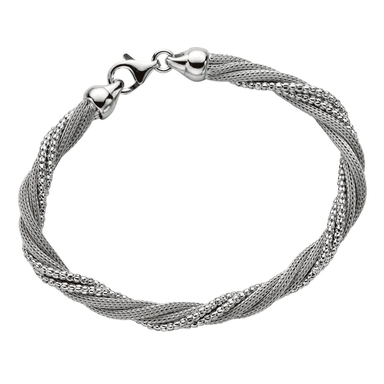 Five Strand Mesh Twist Bracelet In Sterling Silver Sam S Club