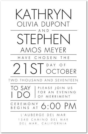 50 of the Best Wedding Invitations Part 2 Wedding paper divas - best of wedding invitation design fonts